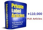 Thumbnail A Huge Package of Over 110,000 PLR Articles