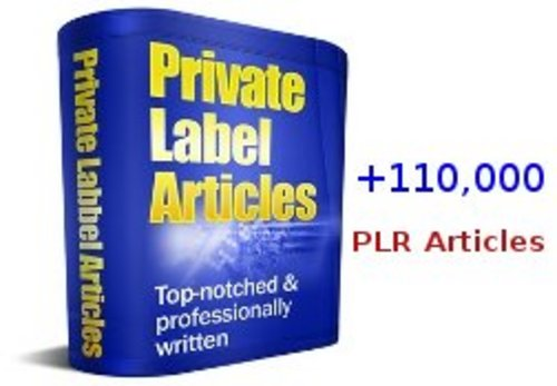 Product picture A Huge Package of Over 110,000 PLR Articles